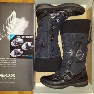 Geox waterproof tall boots